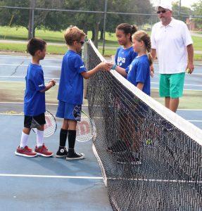 Группа теннис + изучение английского языка